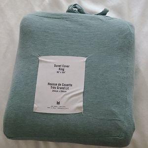 T-shirt Jersey Duvet Cover - King